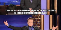 Conan on Ikea's Swedish Meatballs.
