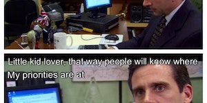 Michael Scott at his best.