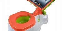 Modern potty training.