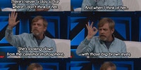 Mark Hamill on Carrie Fisher