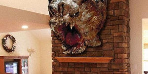 Star Wars Taxidermy. This would be found in my house.