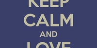 Keep calm and love sloths.