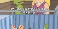 Miss Piggy and Kermit problems...