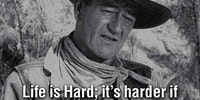 John Wayne's Words Of Wisdom
