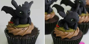 Toothless Cupcake!