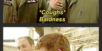Prince William burns Harry