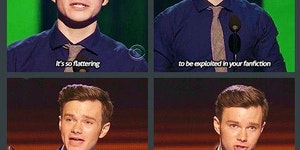 Chris Colfer is a gift