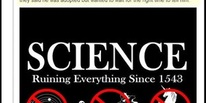 Science ruins everything...