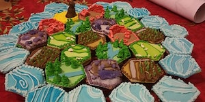 Settlers of Catan cupcakes