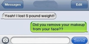 How to lose five pounds.