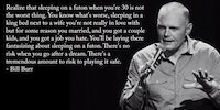 Bill Burr on playing it safe