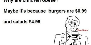 Why are children obese?