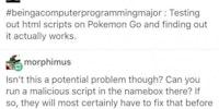 HTML: Hacked