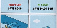Flap flap.