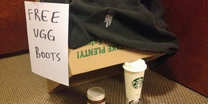 How to catch a white girl.