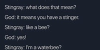 Bubble bubble buzz buzz
