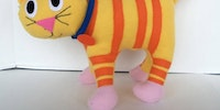 Custom stuffed toys from children's drawings.
