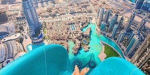 Waterslide in Dubai