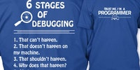 The stages of debugging