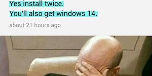 Microsoft Windows 14