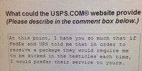 Dealing with USPS