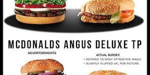 Fastfood vs Reality.