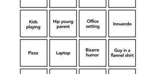Commercial Break Bingo