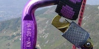 A gentle reminder to secure your carabiners