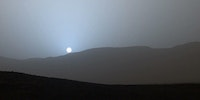 Our generation is the first to see a Martian sunset.
