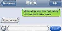 Mom FTW.