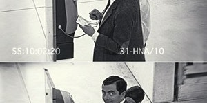 When you spot a security camera...