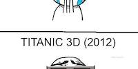 Titanic vs. Titanic 3D.