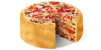 I'm not sure how I feel about pizza cake..