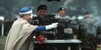 Elizabeth II, Protector of britain
