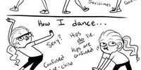 How normal girls dance...