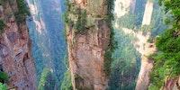 The Tianzi Mountains, China.