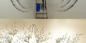 Finger Painted Walls
