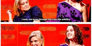 Carrie Fisher's advice to Daisy Ridley