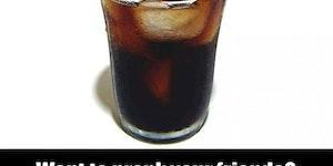 Surprise coke!