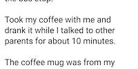 A little situational awareness, officer...