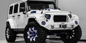 The Jeep Wrangler Stormtrooper edition. Safest car on the market.