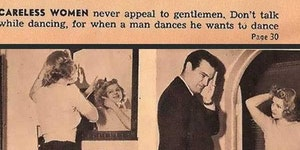 A woman's guide to dating men.
