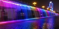 Banpo Bridge, Seoul, South Korea (the good Korea)