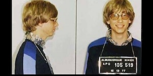 Bill Gates, the criminal.