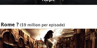 The most expensive TV show in history.