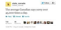 Canadian fun fact