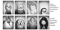 Adventure Time yearbook.