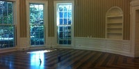 The Oval Office before a new president personalizes it