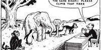 How standardized testing works.