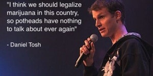 Daniel Tosh on marijuana